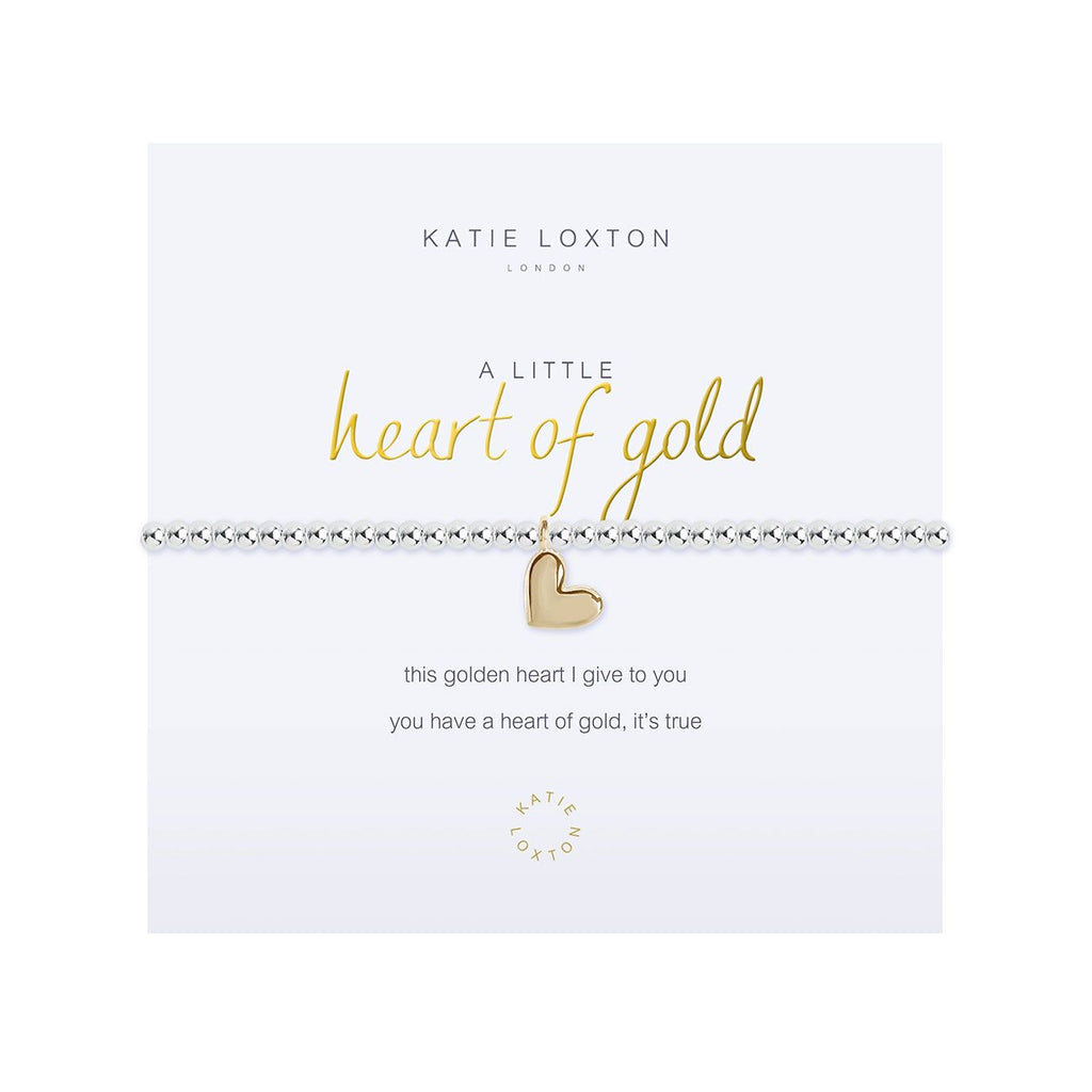 Katie Loxton HEART OF GOLD BRACELET - The Persnickety Bride