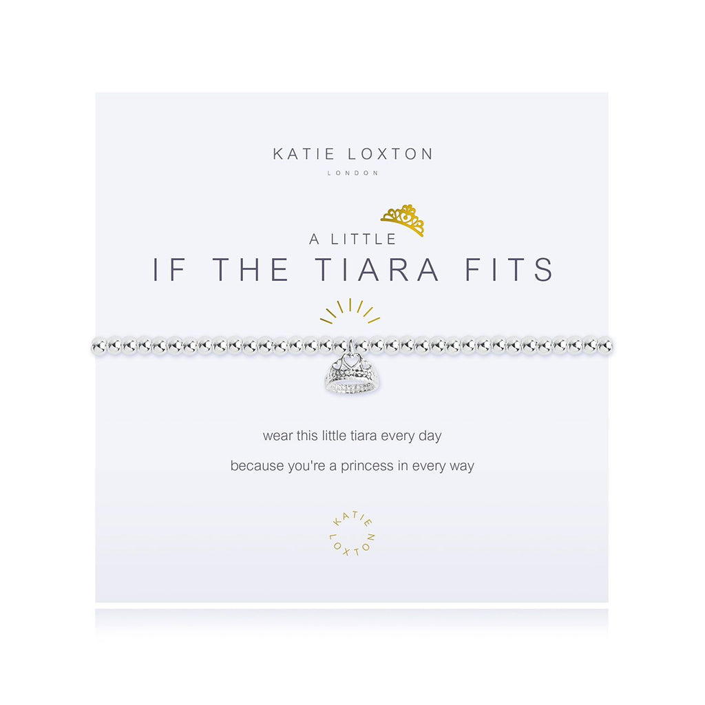 Katie Loxton IF THE TIARA FITS BRACELET - The Persnickety Bride