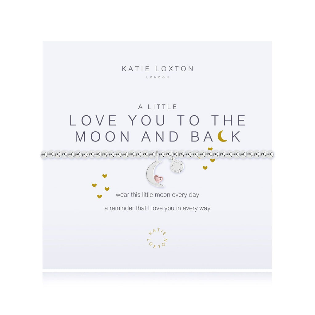 Katie Loxton LOVE YOU TO THE MOON & BACK BRACELET - The Persnickety Bride