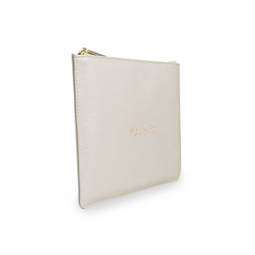 Katie Loxton MAID OF HONOR PERFECT POUCH - The Persnickety Bride