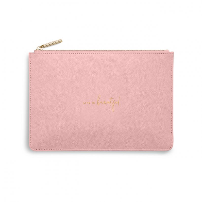 Katie Loxton Life is Beautiful Perfect Pouch