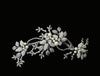 Swarovski and Pearl Climbing Floral Headpiece