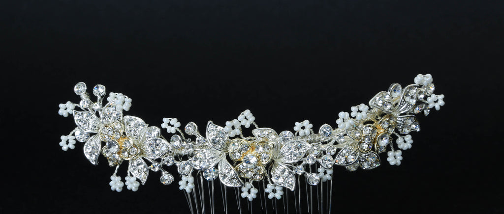 In Bloom Hair Comb - The Persnickety Bride