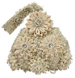 Beaded Blooms Handbag - The Persnickety Bride