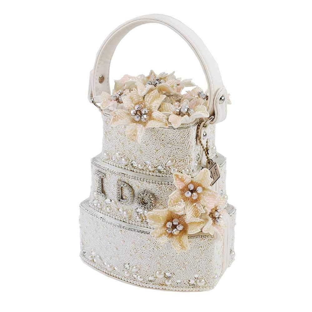 Sweet Beginning Beaded Embroidered Handbag - The Persnickety Bride