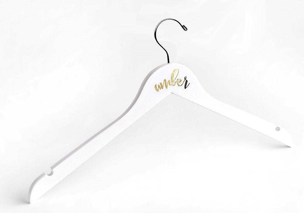Personalized Flower Girl Hanger - The Persnickety Bride