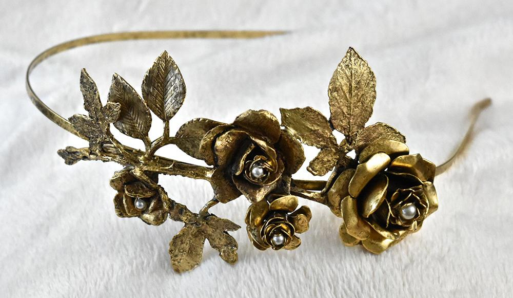 Rose & Thorns Headband - The Persnickety Bride