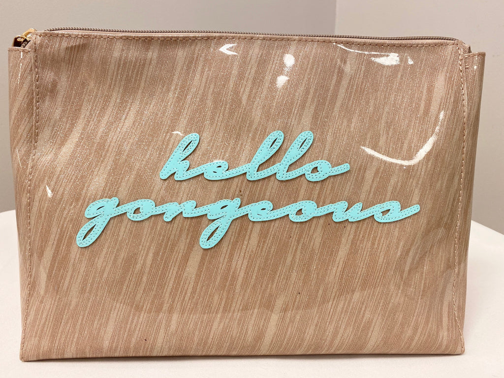 Hello Gorgeous Travel Clutch