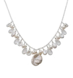 Arabella Pearl Cluster Necklace