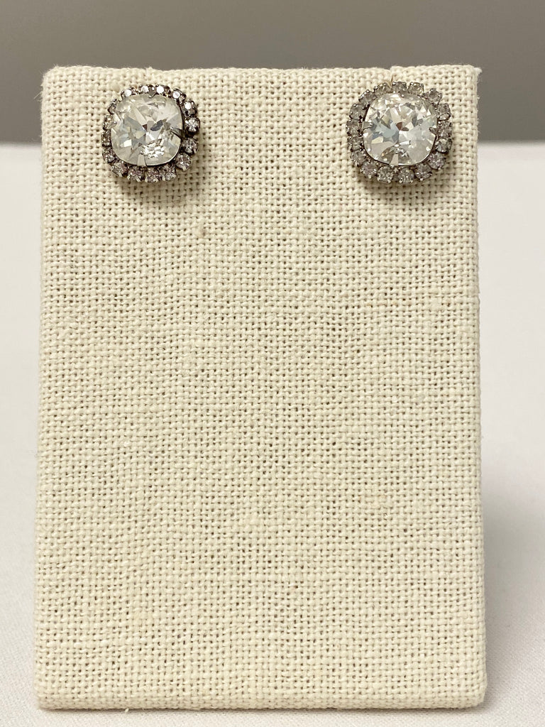 Vintage Collection: Gemstone Stud Earrings - The Persnickety Bride