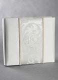 Brocade Monogram 8x8 Album - The Persnickety Bride