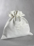 Embroidered Monogram Money Bag - The Persnickety Bride