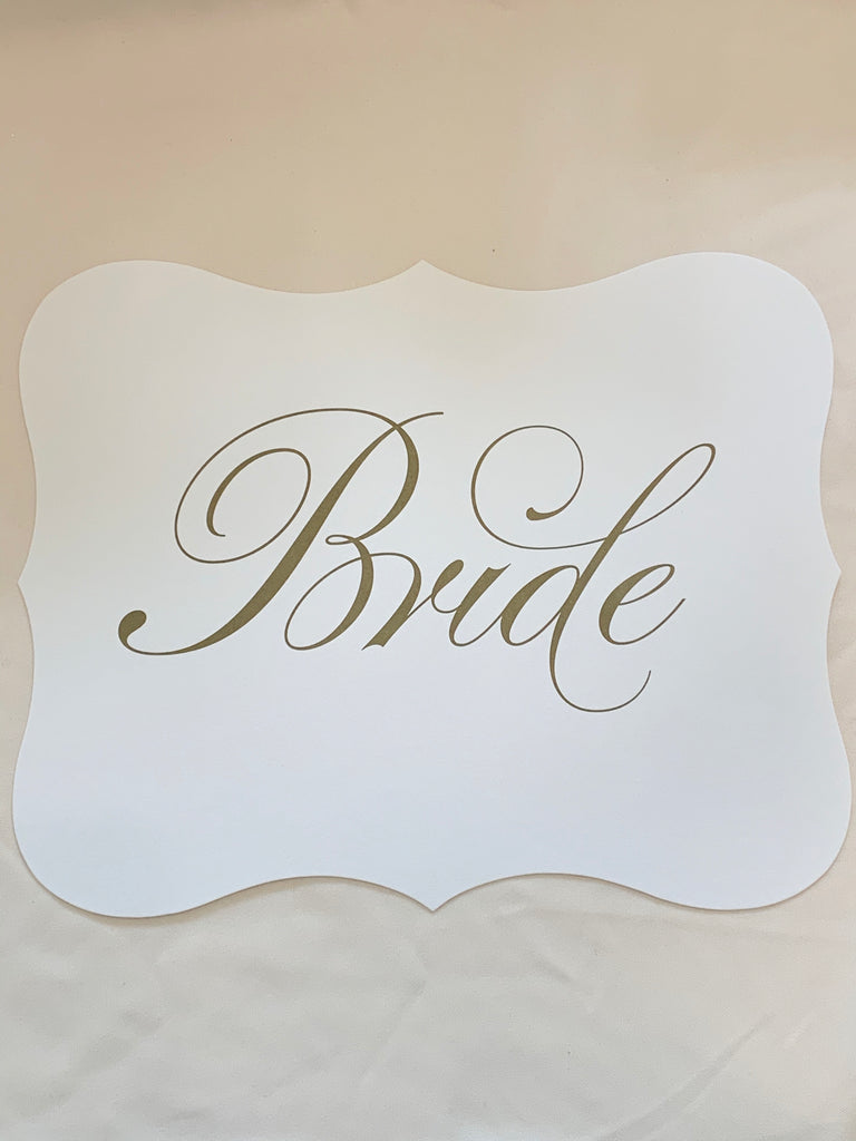 Unconditionally: Wedding Signage - The Persnickety Bride