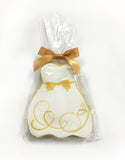 Iced WEDDING DRESS Shortbread Cookies