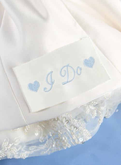I Do Dress Label - The Persnickety Bride
