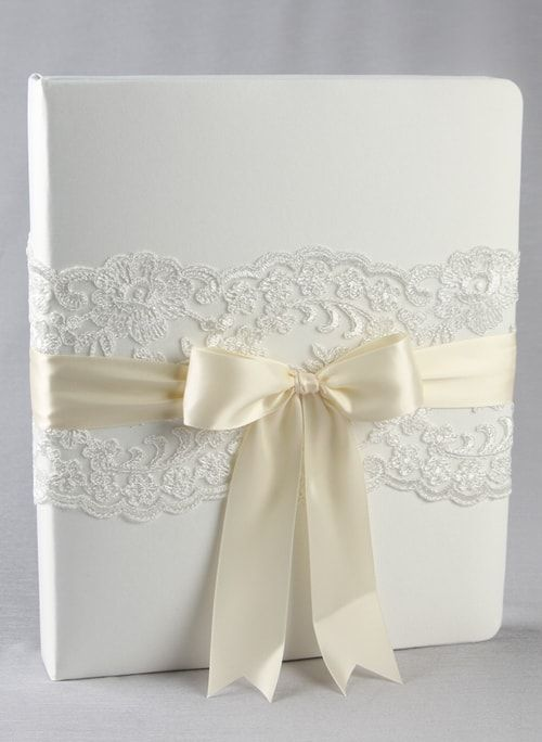 Chantilly Lace Memory Book - The Persnickety Bride