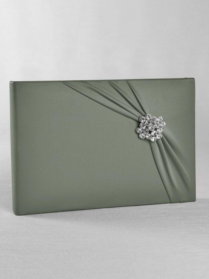 Garbo in Satin Guest Book - The Persnickety Bride