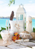 Seashore Flower Basket - The Persnickety Bride