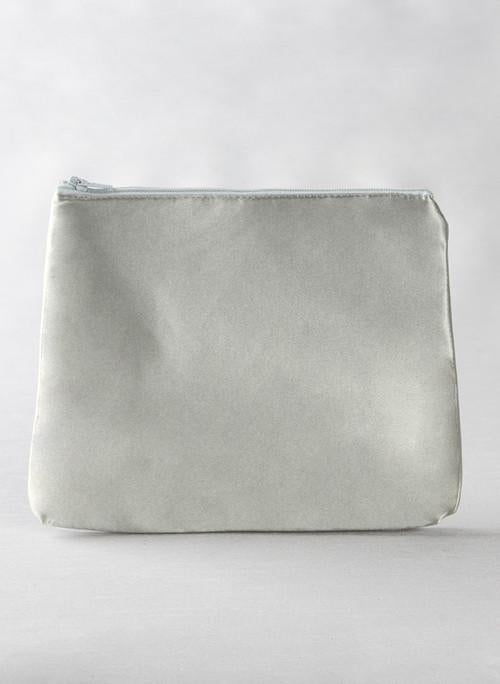 Rhinestone Single Initial Cosmetic Bag - The Persnickety Bride