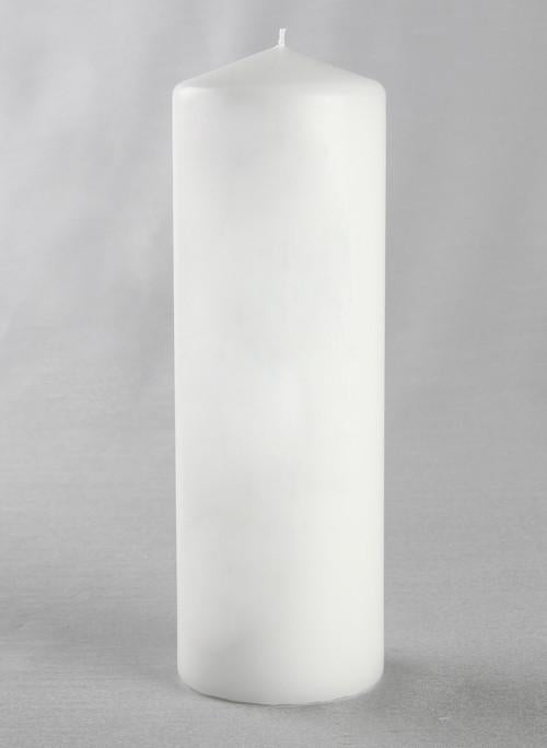 Plain Candle Pillar - The Persnickety Bride
