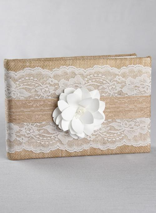 Rustic Garden Guest Book - The Persnickety Bride