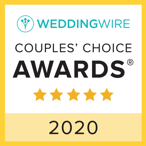 The Persnickety Bride WeddingWire Couples Choice Award Winner 2019