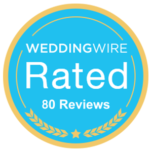Rated on WeddingWire