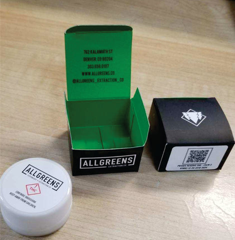 Concentrate Boxes for Cannabis customer printed packaging 5ml and 9ml custom boxes