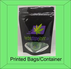 Custom Printed Packaging Mylar bags, exit bags Concentrate containers