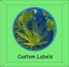 Custom Label Printing for your Designer packaging needs. Cannabis and Marijuana labels