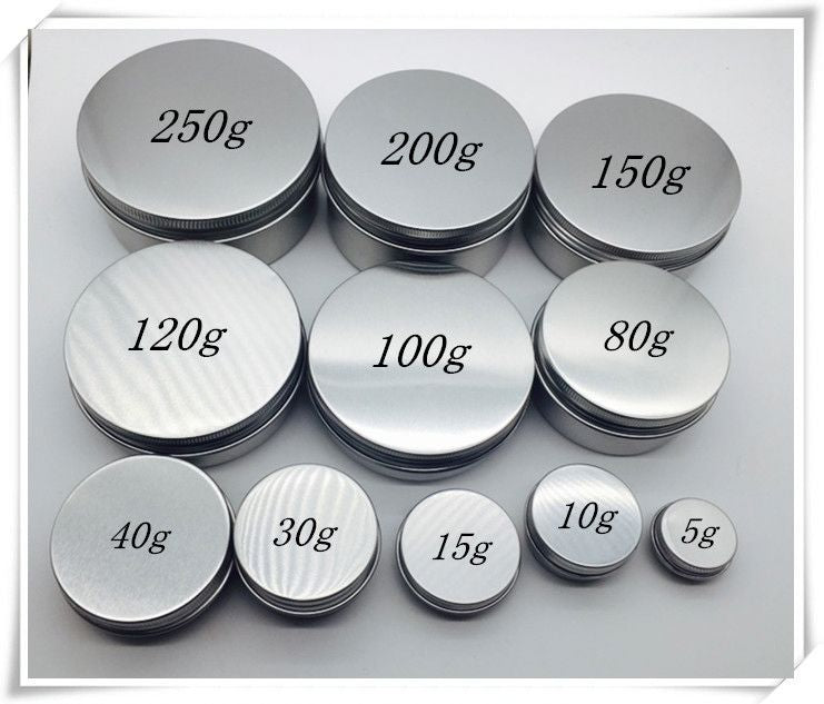 Aluminum Balm Tins for your Cannabis Rubs - 2000 MQO - MSN Packaging LLC
