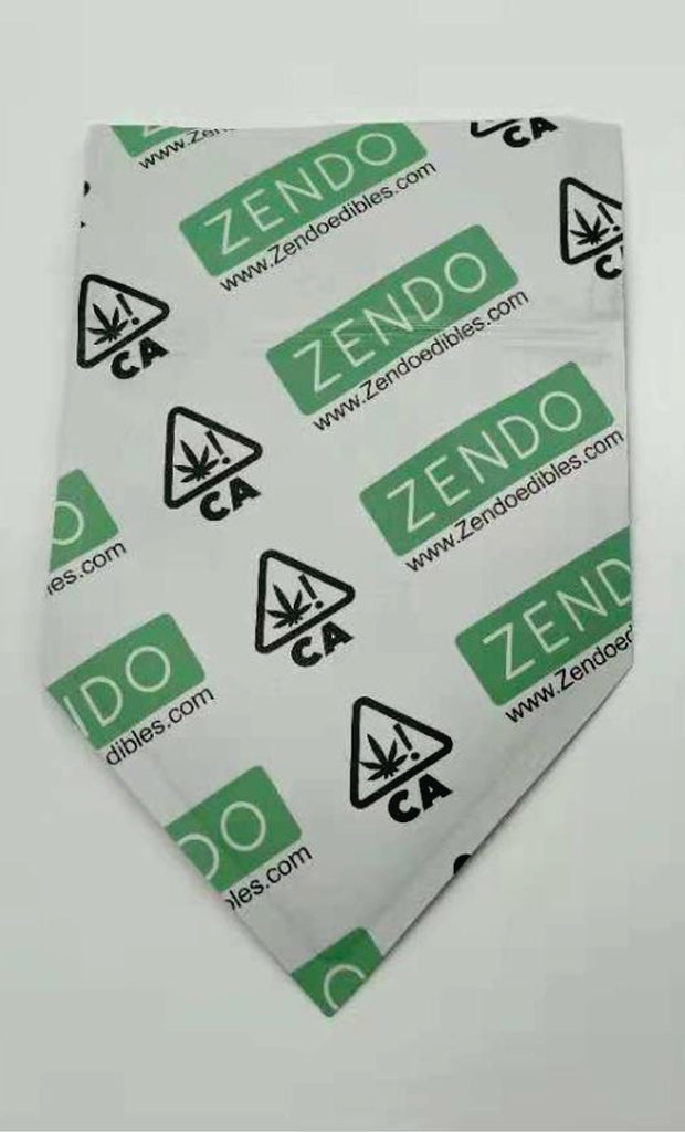 Child Resistant zipper lock smell proof cannabis bags. Special Shaped Custom printed. - MSN Packaging LLC