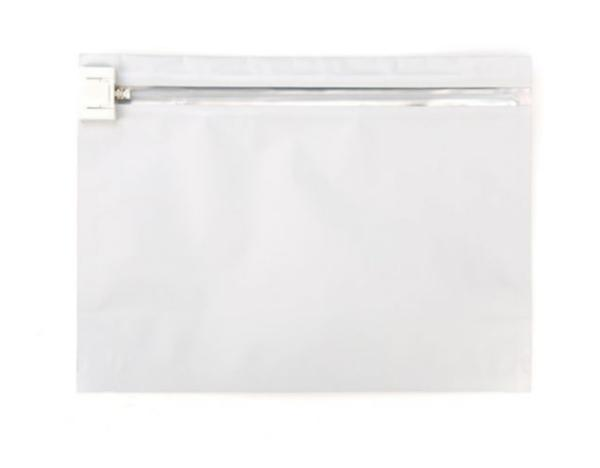 "Child Resistant Barrier Exit Bags - White Opaque 12"" x 9"" 6000 - MSN Packaging LLC"