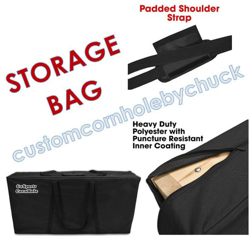 Cornhole Storage Bag & Transport Carrying Case - Upgrade with Purchase