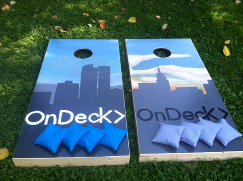 Custom Corporate Logo Board Set with Bags