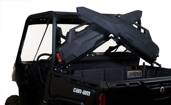 Kawasaki Mule KAF1000 KAF620 KAF820 UTV Armory X-Rack & 2 Gun Adjustable Cases
