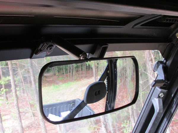 Polaris Ranger XP900 & 570 UTV REAR VIEW MIRROR Heavy Duty Wide Angle Adjustable Fits Pro-Fit, Profile, or D-Bars
