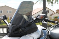 "NEW 2008-2017 Can Am Spyder RS 19.5"" Tinted Shorty WIndshield Custom made in USA"