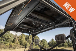 "UTV Overhead Adjustable Gun or Bow Rack Heavy Duty Adjustable Rack Fits Space 17.55"" to 33.5"