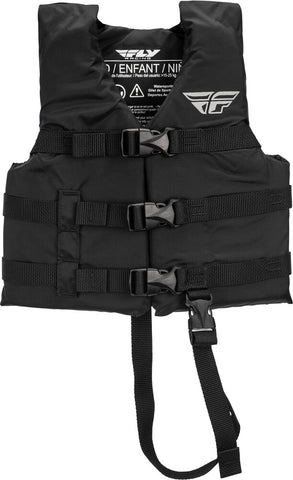 Junior Boater Floater Fly Racing Life Vest For 30-50Lbs Child Size with Adjustable Straps NEW