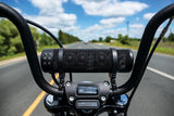 Motorcycle Sound of Thunder Sound of Quality Speaker Bar Satin Black with Mounts