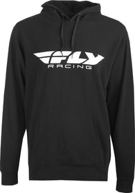 Men's Fly Racing Corporate Casual Hoody Black Hooded Sweatshirt Hoodie 354-0031