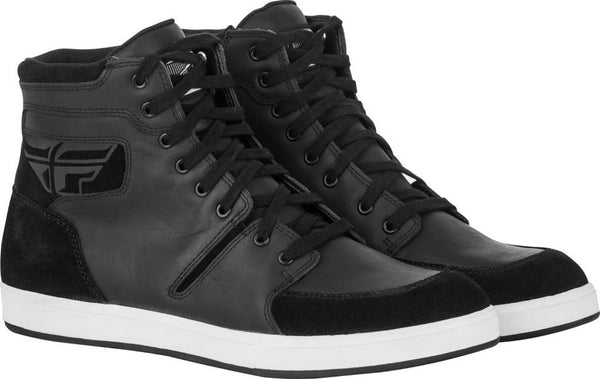 Waterproof Casual Motorcycle M-16 Shoes Leather Chuck Taylor Style Mens 8-13 NEW