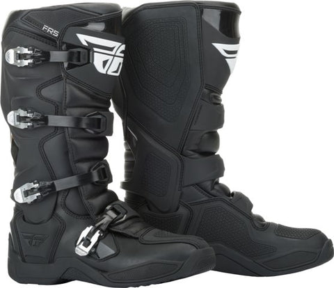 Motocross Dirt Bike MX FR5 Boots Fly Racing Riding Boot Mens 7-13 Black NEW