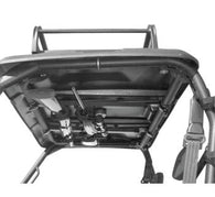 "Honda MUV700 Big Red UTV Overhead Double Gun Rack Adjustable 23""-28"" EZ Install"