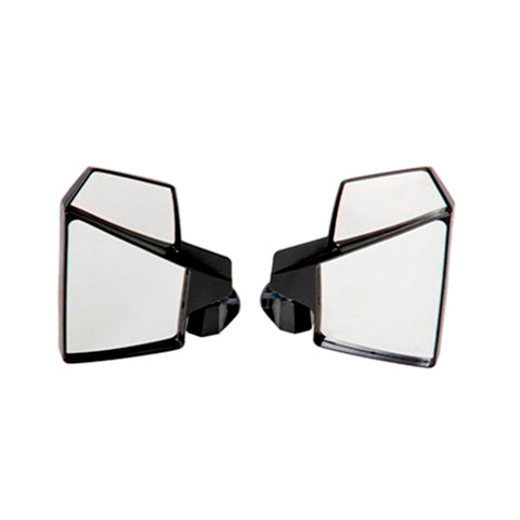 Pro-Fit D-Bar Profile Bar UTV Break-Away Left & Right SIDE Mirror Kolpin 98317 Shatter-Proof SET