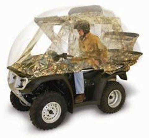 ATV QUIKCAB Easy Use Enclosure CONVERTIBLE QUICK CAB Camo Universal Fit NEW