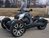 "NEW 2019 2020 2021 Can Am Spyder RYKER 23"" Clear WIndshield Custom Made in USA"