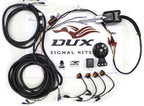 Polaris RZR Plug-n-Play Easy Install TURN SIGNAL & HORN KIT Column Mount Control