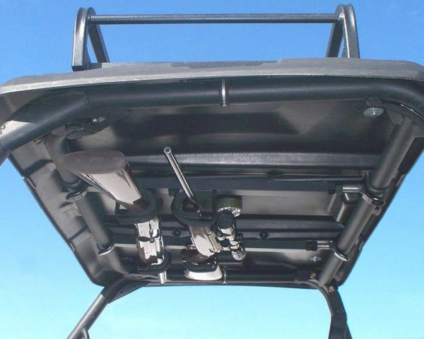 "Great Day Inc UTV Overhead Double Gun Rack Adjustable 28""-35"" Easy Install"